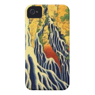 Peasants and Waterfall iPhone 4 Cover