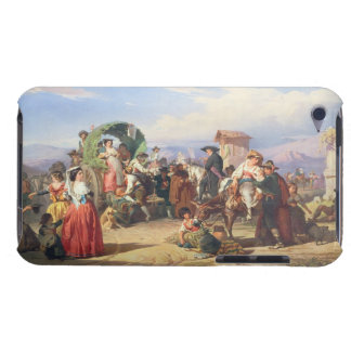Peasants of the Campagna, 1860 (oil on canvas) iPod Touch Case-Mate Case