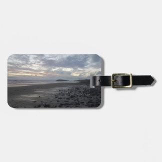 Pebble Beach, Rhossili Bay Luggage Tag