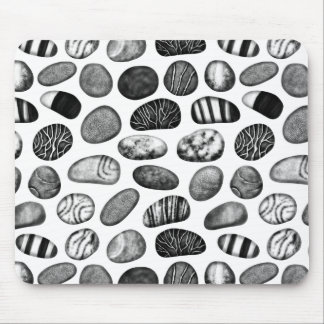 Pebble Pattern Mouse Pad