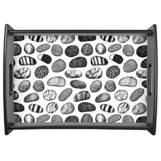 Pebble Pattern Serving Tray