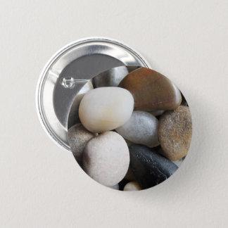Pebbles 6 Cm Round Badge