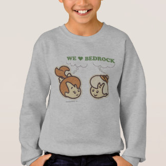 PEBBLES™ and BAMM-BAMM™ Love Bedrock Sweatshirt