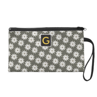 Pebbles and Flowers Garden Delight Wristlet