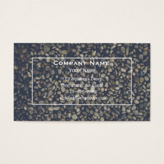 Pebbles and Stone Business Card