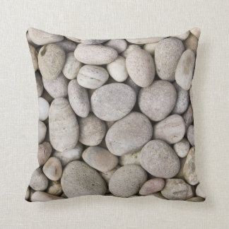 pebbles background cosy pillow