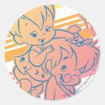 PEBBLES™ Grooming Bam Bam Sticker