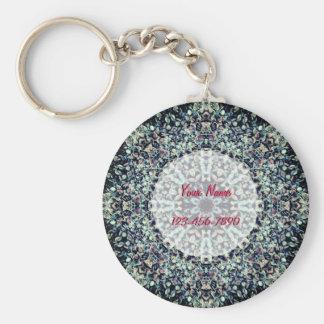 Pebbles Mandala Key Ring