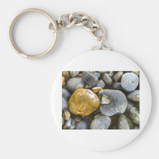 pebbles odd one basic round button key ring