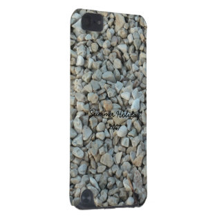 Pebbles on Beach Stone Photography iPod Touch (5th Generation) Cover