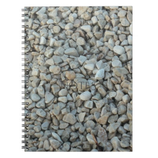 Pebbles on Beach Stone Photography Notebooks