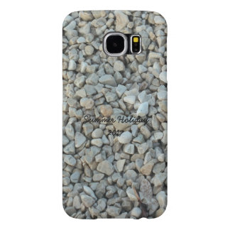 Pebbles on Beach Stone Photography Samsung Galaxy S6 Cases