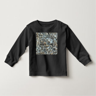 Pebbles on Beach Stone Photography Toddler T-Shirt