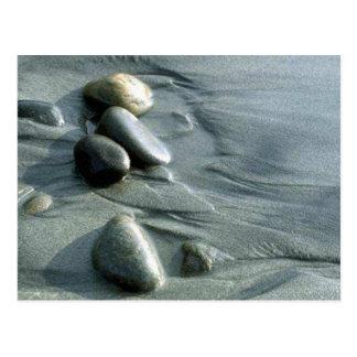 Pebbles on the Beach Postcard