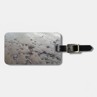 Pebbles on the Sand Luggage Tag