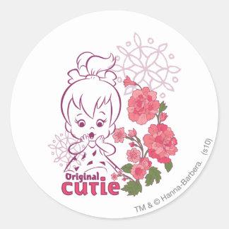 PEBBLES™ Original Cutie Round Sticker