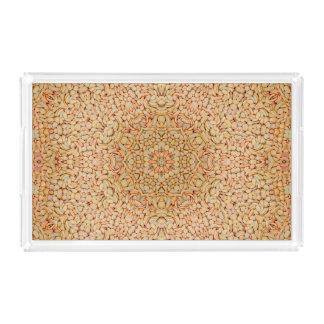 Pebbles Pattern   Acrylic Trays, 2 shapes 4 sizes Acrylic Tray