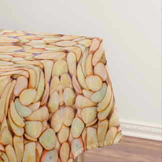Pebbles Pattern Custom Cotton Tablecloth, 3 sizes Tablecloth