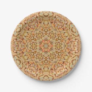 Pebbles Pattern Custom Paper Plates