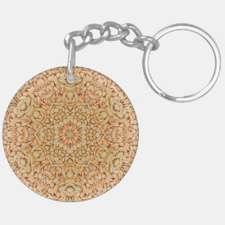 Pebbles Pattern (double-sided) Keychain
