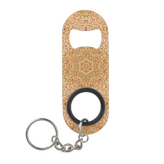 Pebbles Pattern Kaleidoscope  Bottle Opener
