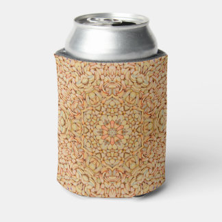 Pebbles Pattern KaleidoscopeCan Cooler