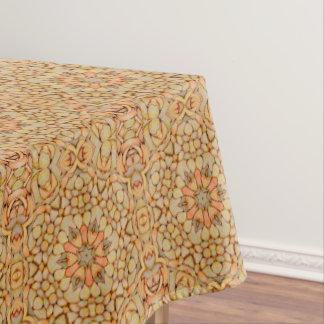 Pebbles Pattern  Vintage Kaleidoscope  Tablecloth