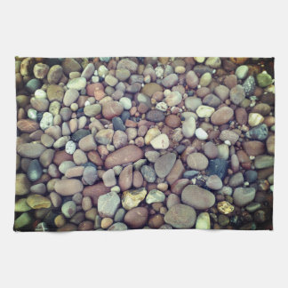 Pebbles Photo Tea Towel 40.6 cm x 61 cm