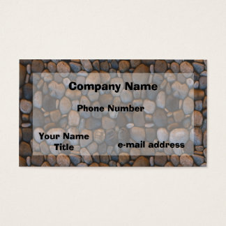 Pebbles Photograph Business Card