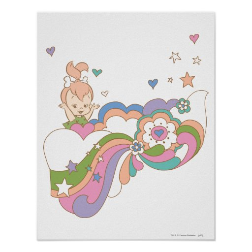 PEBBLES™ Rainbow Cloud Posters