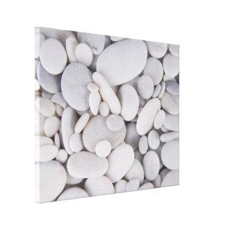 Pebbles, Rocks, Background Canvas Print