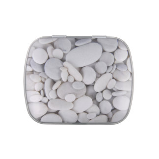 Pebbles, Rocks, Background Jelly Belly Candy Tins