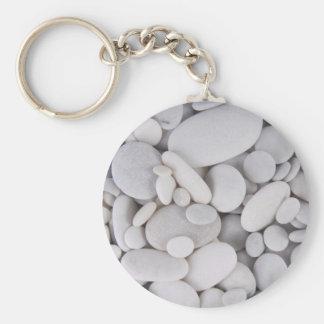 Pebbles, Rocks, Background Key Ring