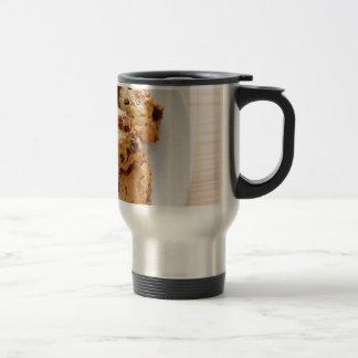 Pecan chocolate chip cookies stainless steel travel mug