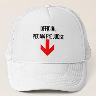 Pecan Pie Judge Trucker Hat