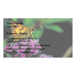 Peck's skipper on Mistflower Business Card Template