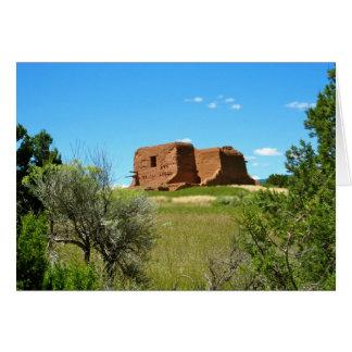Pecos Ruins Card