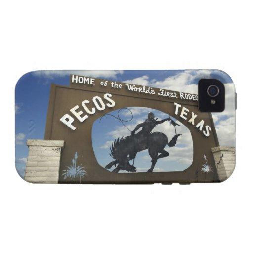Pecos, Texas sign Case-Mate iPhone 4 Cover