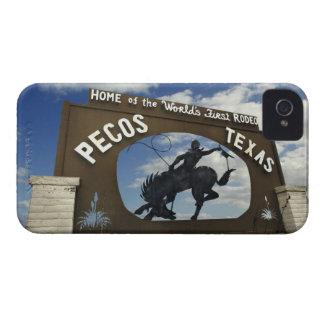 Pecos, Texas sign Case-Mate iPhone 4 Cases