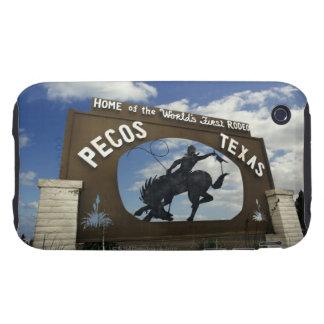 Pecos, Texas sign iPhone 3 Tough Cases