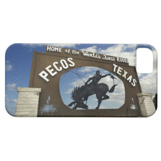 Pecos, Texas sign iPhone 5 Cases