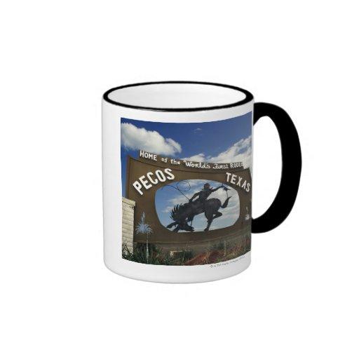 Pecos, Texas sign Mug