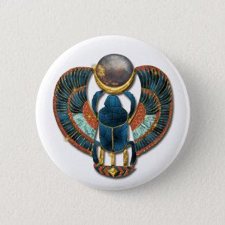 Pectoral Scarab 6 Cm Round Badge