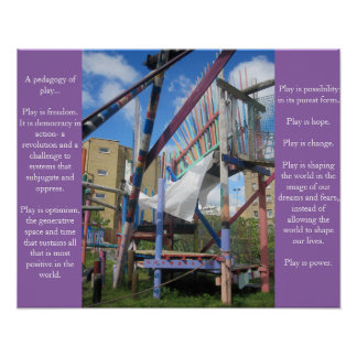 Pedagogy of Play poster # 1