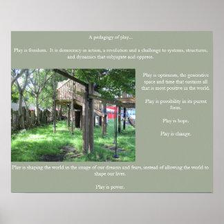Pedagogy of Play poster # 3