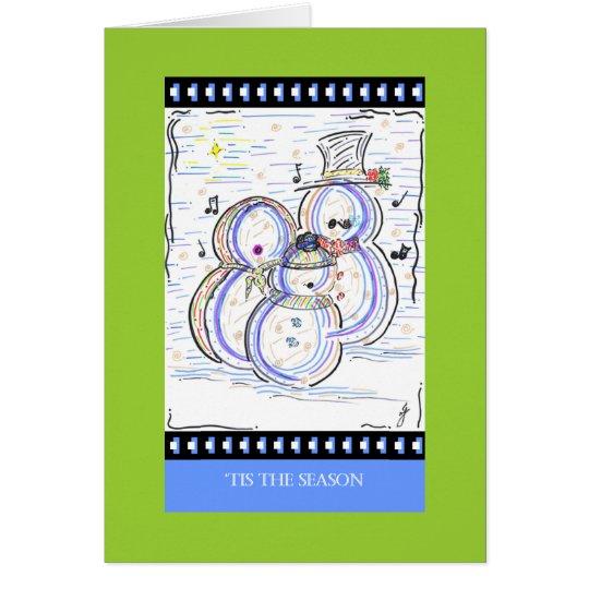 PedagogyGreetings Cards: Let It Snow Man! Card