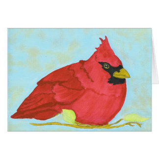 PedagogyGreetings: NC Cardinal Card
