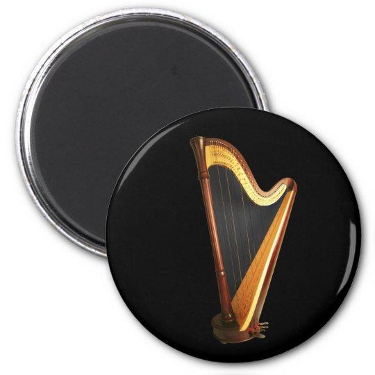 Pedal Harp Magnet