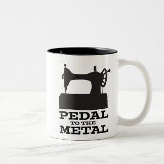 Pedal to the Metal Mug