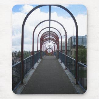 Pedestrian bridge mouse pad